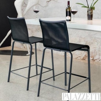 net-stool-black