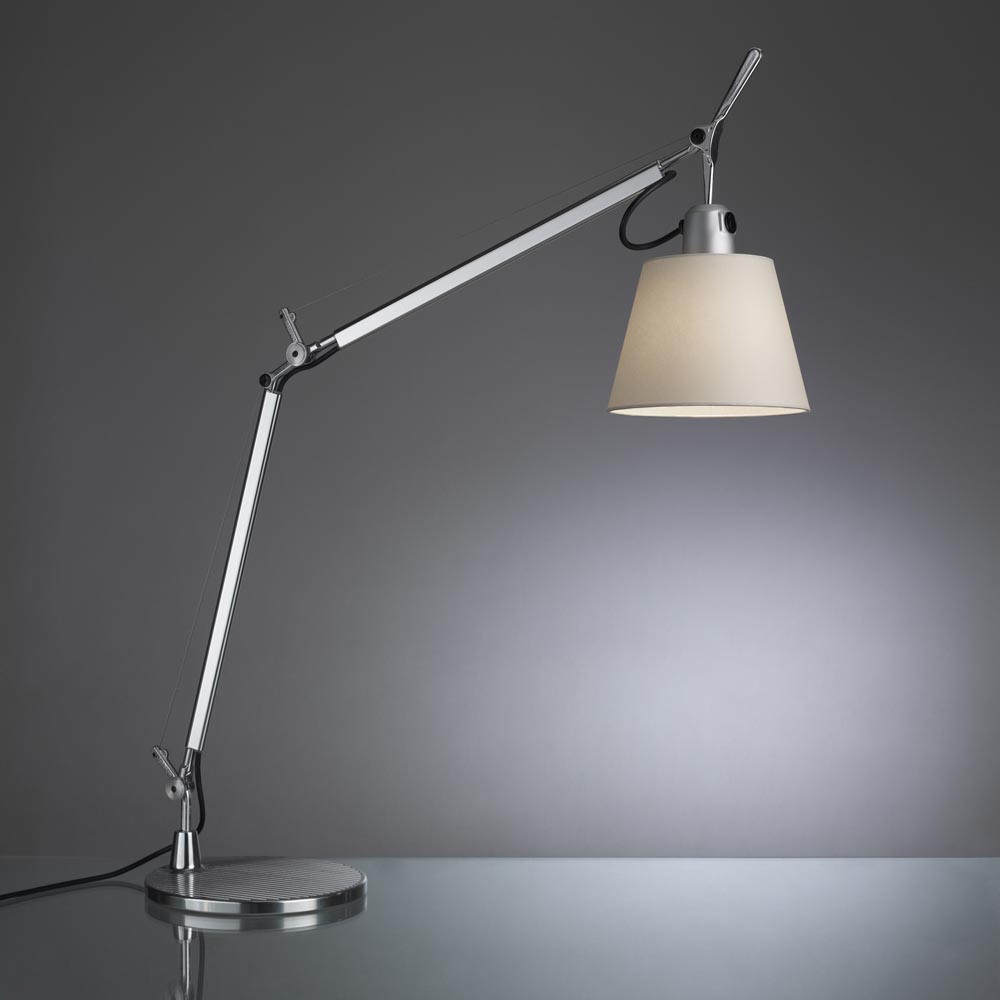 palazzetti tolomeo with shade table lamp. Black Bedroom Furniture Sets. Home Design Ideas